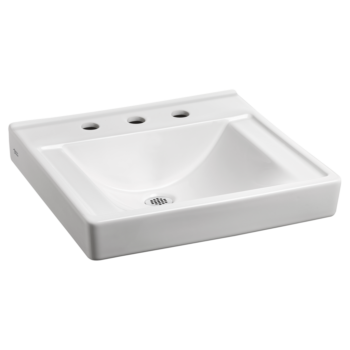 American Standard 9024908EC.020 – Decorum Wall-Hung Sink with EverClean Less Overflow