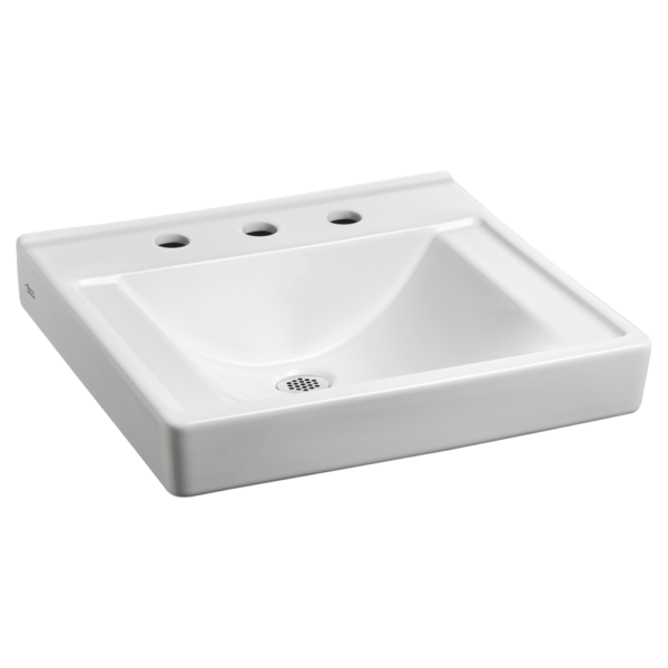 American Standard 9024908EC.020 - Decorum Wall-Hung Sink with EverClean Less Overflow