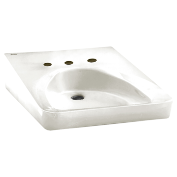 American Standard 9140013.020 – Wheelchair Users Wall-Mount Sink