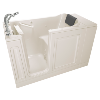 American Standard C2848.119.WRW – Luxury Series 28X48-inch Right Drain Walk-in Tub Whirlpool with Tub Faucet