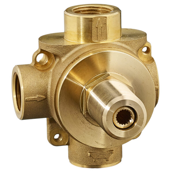 American Standard R422 - 2-Way In-Wall Diverter Valve Body (Discrete Functions)