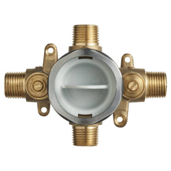 American Standard RU101SS – Flash Shower Rough-In Valve with Universal Inlets and Outlets with Screwdriver Stops