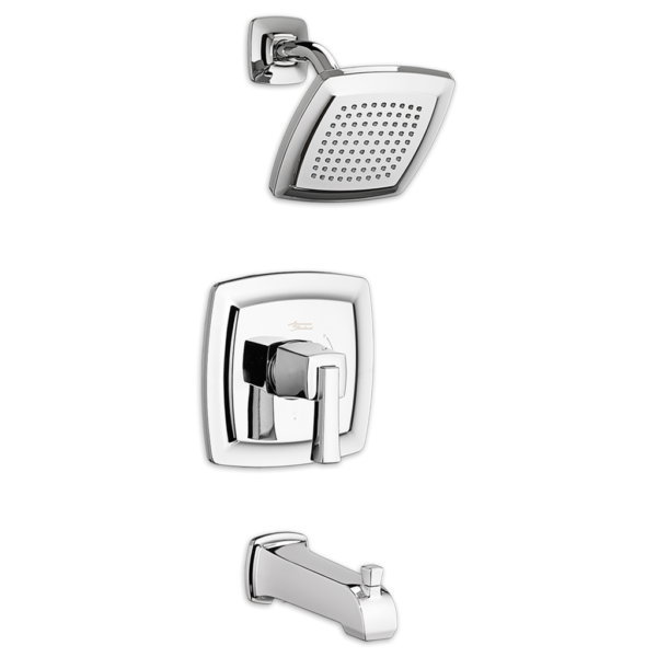 American Standard TU353508.002 - Townsend Tub and Shower Faucet with Water-Saving Shower Head and Cartridge