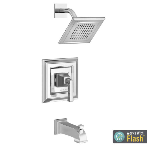 American Standard TU455508.002 - Town Square S Tub and Shower Trim Kit with Cartridge - 1.8 GPM