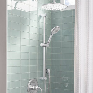 American Standard 1660730.002 - 30 Inch Round Shower Slide Bar