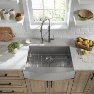 American Standard 18SB.9302200A.075 - Pekoe 30x22-inch Stainless Steel Apron Sink