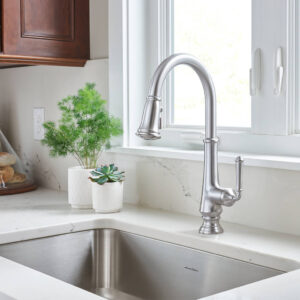 American Standard 4279300.002 - Delancey Single-Handle Pull-Down Kitchen Faucet