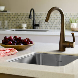 American Standard 4433410.002 - Quince 1-Handle Pull Down High Arc Bar Faucet