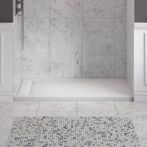 American Standard 6036SM-LHOL.218 - Townsend 60 x 36 Inch Solid Surface Shower Base - Left Drain