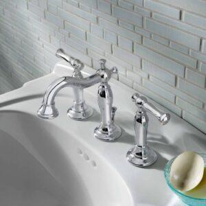 American Standard 7440851.002 - Quentin 2-Handle 8 Inch Widespread Bathroom Faucet