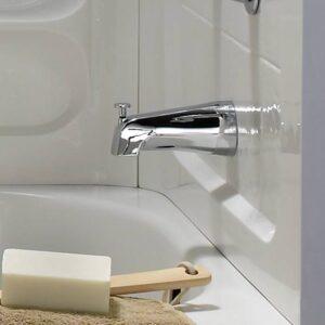 American Standard 8888026.002 - Slip-On 4 Inch Diverter Tub Spout