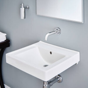 American Standard 9024000EC.020 - Decorum Wall-Hung Sink with EverClean