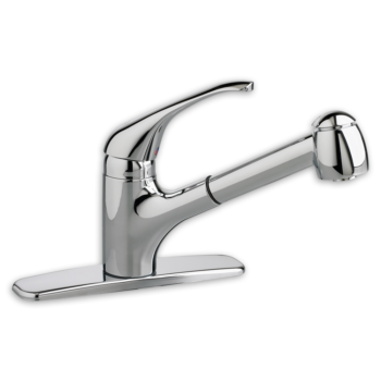 American Standard 4205104.002 – Reliant + 1-Handle Pull-Out Kitchen Faucet