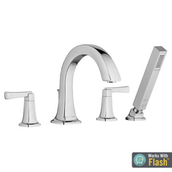 American Standard T353901.002 – Townsend Roman Tub Faucet with Personal Shower for Flash Rough-In Valves