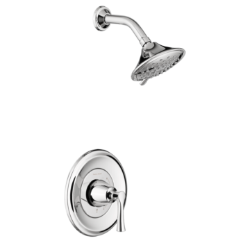 American Standard TU722507.002 – Estate Shower Only Trim Kit with Water-Saving Shower Head and Cartridge