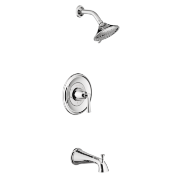 American Standard TU722508.002 – Estate Tub and Shower Trim Kit with Water-Saving Shower Head and Cartridge
