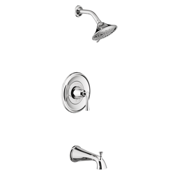 American Standard TU722508.002 - Estate Tub and Shower Trim Kit with Water-Saving Shower Head and Cartridge