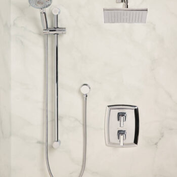 American Standard 1662829.002 – Townsend Thermostatic Super Shower Kit