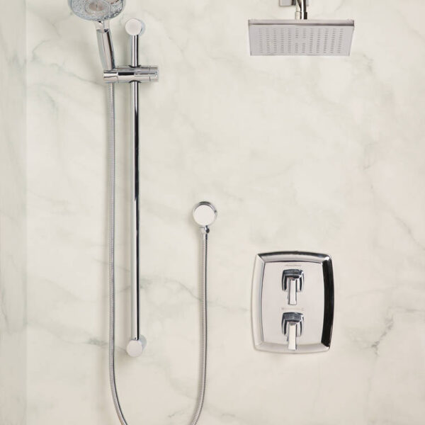 American Standard 1662829.002 - Townsend Thermostatic Super Shower Kit