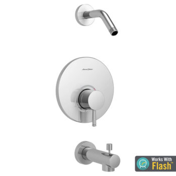 American Standard TU064502WDXH.002 – Serin Tub and Shower Trim Kit Less Shower Head with Cartridge