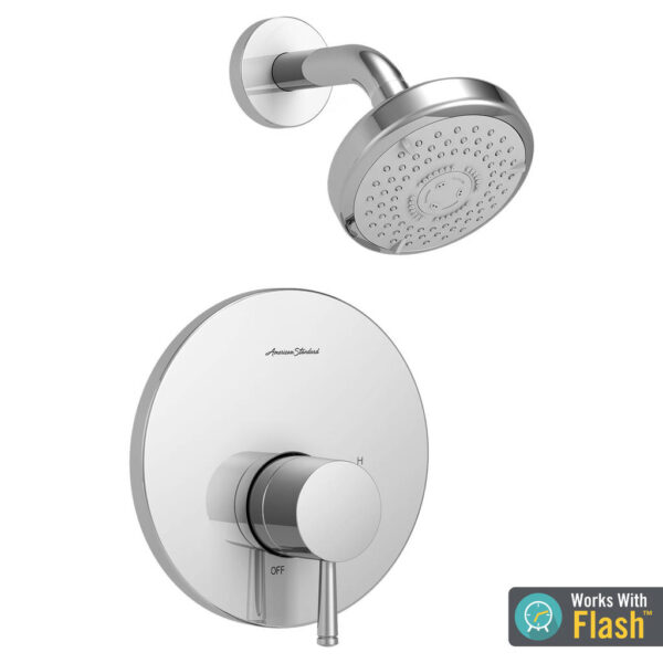American Standard TU064507.002 - Serin Shower Only Trim Kit with Water-Saving Shower Head and Cartridge