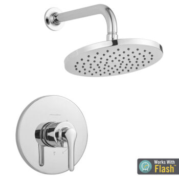 American Standard TU105507.002 – Studio S Shower Only Trim Kit with Water-Saving Shower Head and Cartridge