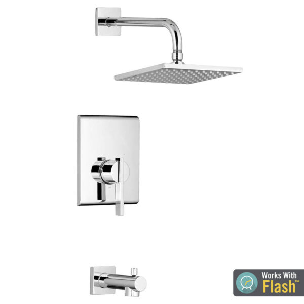 American Standard TU184502.002 - Times Square Tub and Shower Trim Kit with Cartridge