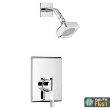 American Standard TU184507.002 – Times Square Shower Only Trim Kit with Water-Saving Shower Head and Cartridge