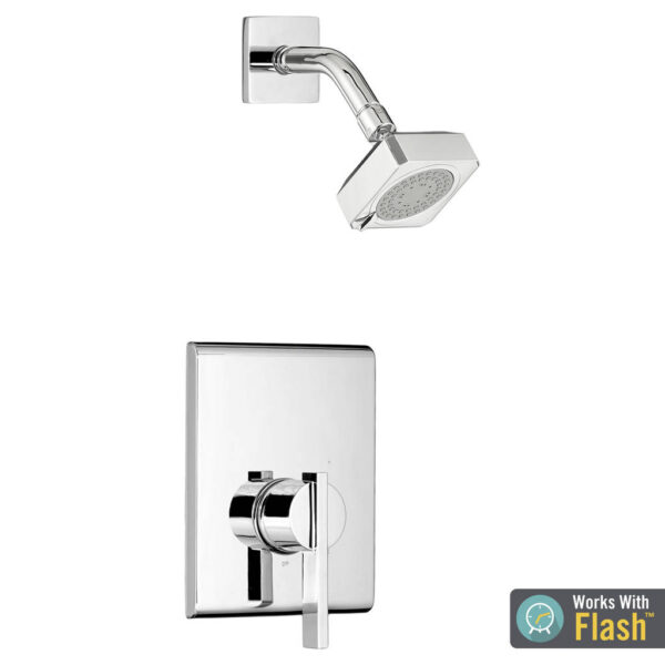 American Standard TU184507.002 - Times Square Shower Only Trim Kit with Water-Saving Shower Head and Cartridge