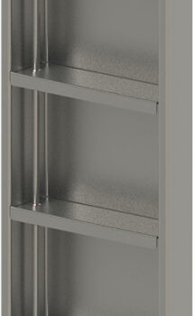 RUBINET SKU#9TWN4-RECESSED WALL NICHE WITH ADJUSTABLE SHELVES  12X24″