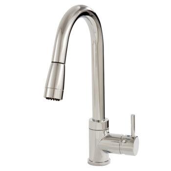 Aquabrass PULMI 33045 – Pull-Down Dual Stream Kitchen Faucet