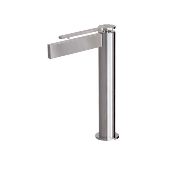 Aquabrass Time 51120-PC Tall single-hole lavatory faucet