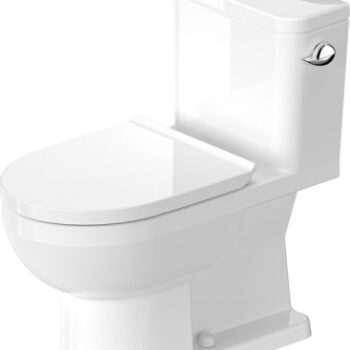 Duravit DuraStyle Basic One-Piece Toilet with Seat – WHITE