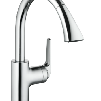 KWC-DOMO KITCHEN FAUCET PULL DOWN SPRAY