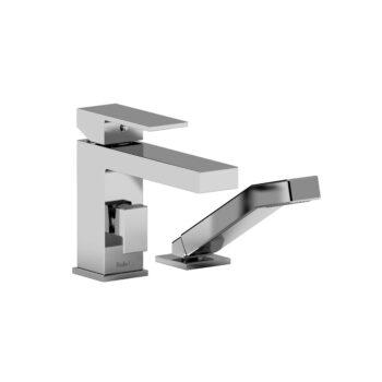 2-Piece Deck-Mount Tub Filler with Hand Shower QA02C