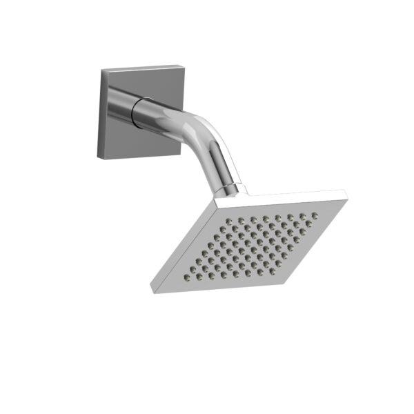 "Riobel 384C - 10 cm (4"") shower head with arm"