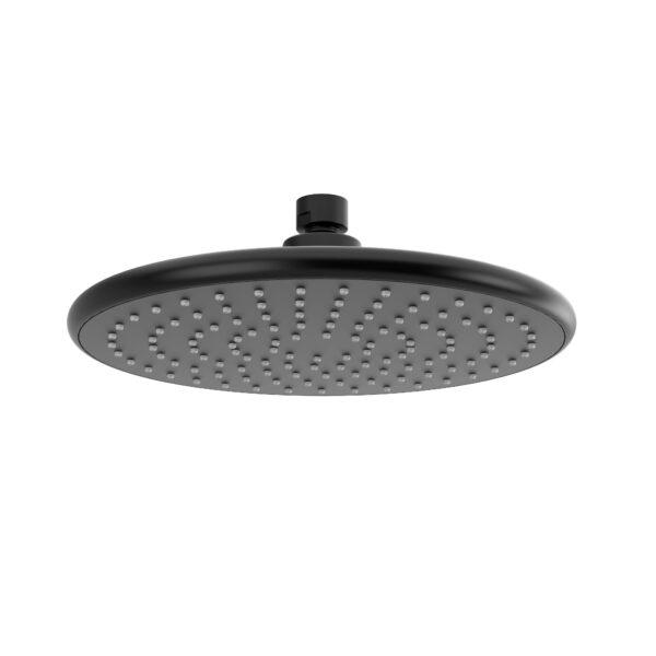 """Riobel 428BK - 23 cm (9"""") Plastic shower head"""
