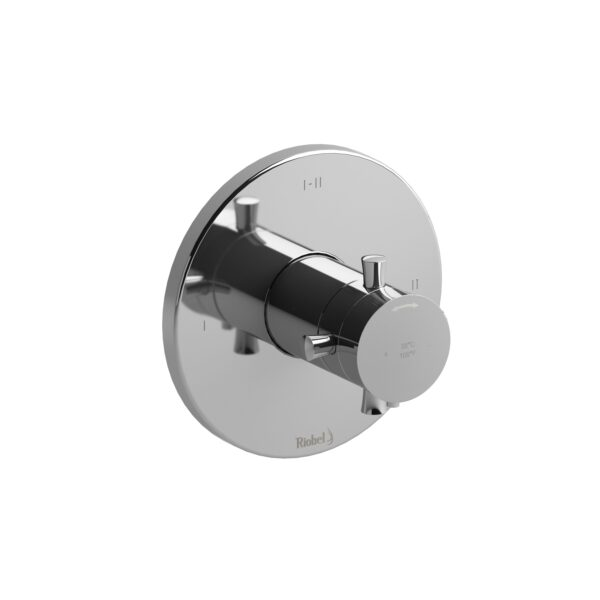 Riobel EDTM23+C - 2-way Type T/P coaxial complete valve