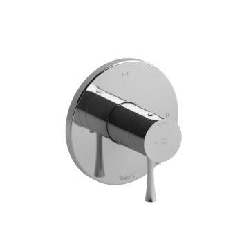 Riobel EDTM23C – 2-way Type T/P coaxial complete valve