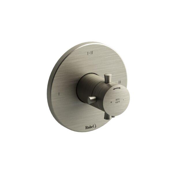 Riobel EDTM44+BN - 2-way no share Type T/P complete valve