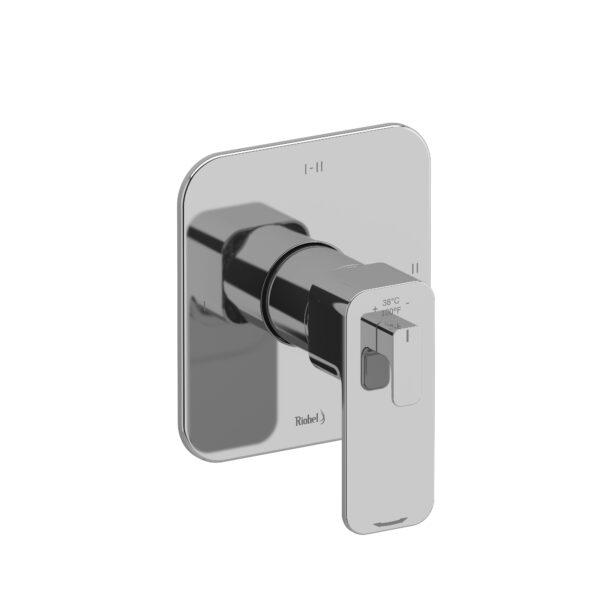 Riobel EQ23C - 2-way Type T/P coaxial complete valve