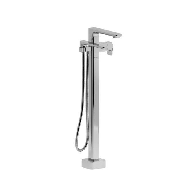Riobel EQ39C-EX - 2-way Type T  floor-mount tub filler with hand shower