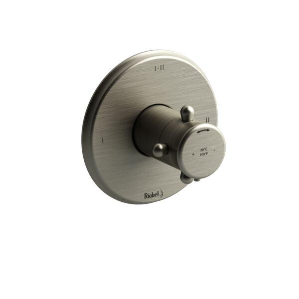 Riobel GN23+BN - 2-way Type T/P coaxial complete valve
