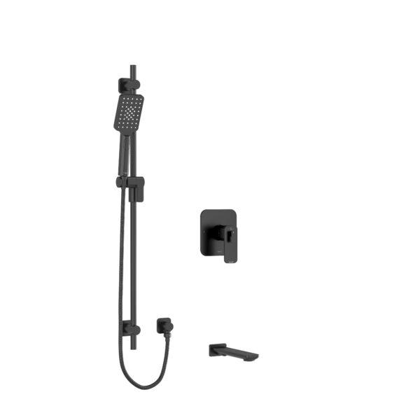 """Riobel KIT1244EQBK - ½"""" 2-way Type T/P shower system"""