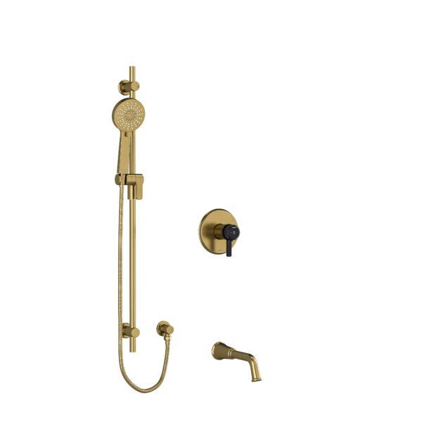 "Riobel KIT1244MMRDJBGBK - ½"" 2-way Type T/P shower system"