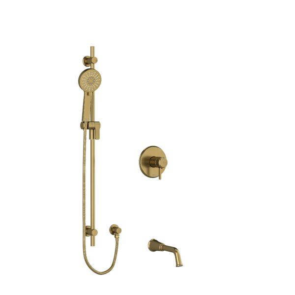 "Riobel KIT1244MMRDLBG - ½"" 2-way Type T/P shower system"