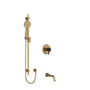 "Riobel KIT1244MMRDLBGBK-EX – ½"" 2-way Type T/P shower system"