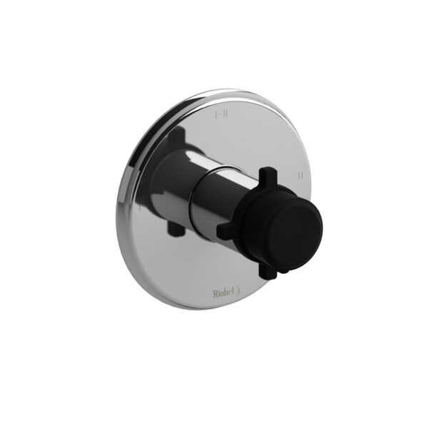 Riobel MMRD23+CBK - 2-way Type T/P coaxial complete valve