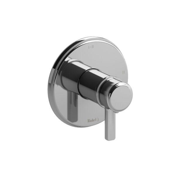 Riobel MMRD23JC - 2-way Type T/P coaxial complete valve