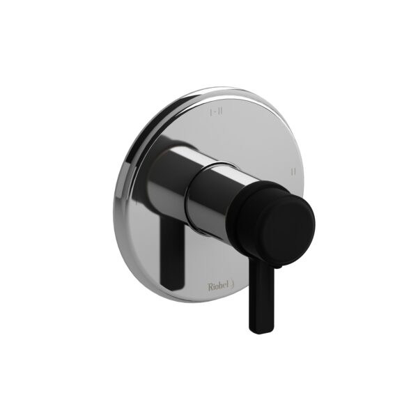 Riobel MMRD23JCBK - 2-way Type T/P coaxial complete valve